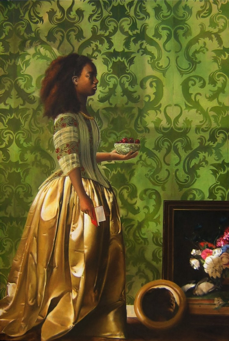 Elizabeth Colomba paints black women that history forgot ...