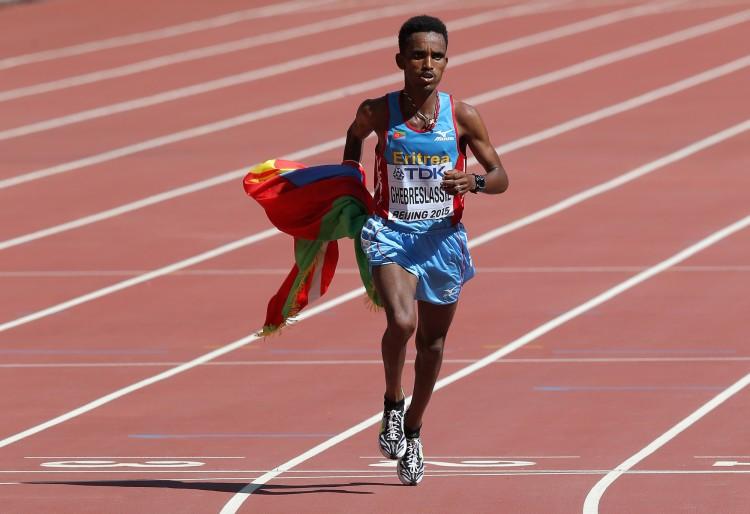Ghirmay Ghebreslassie of Eritrea
