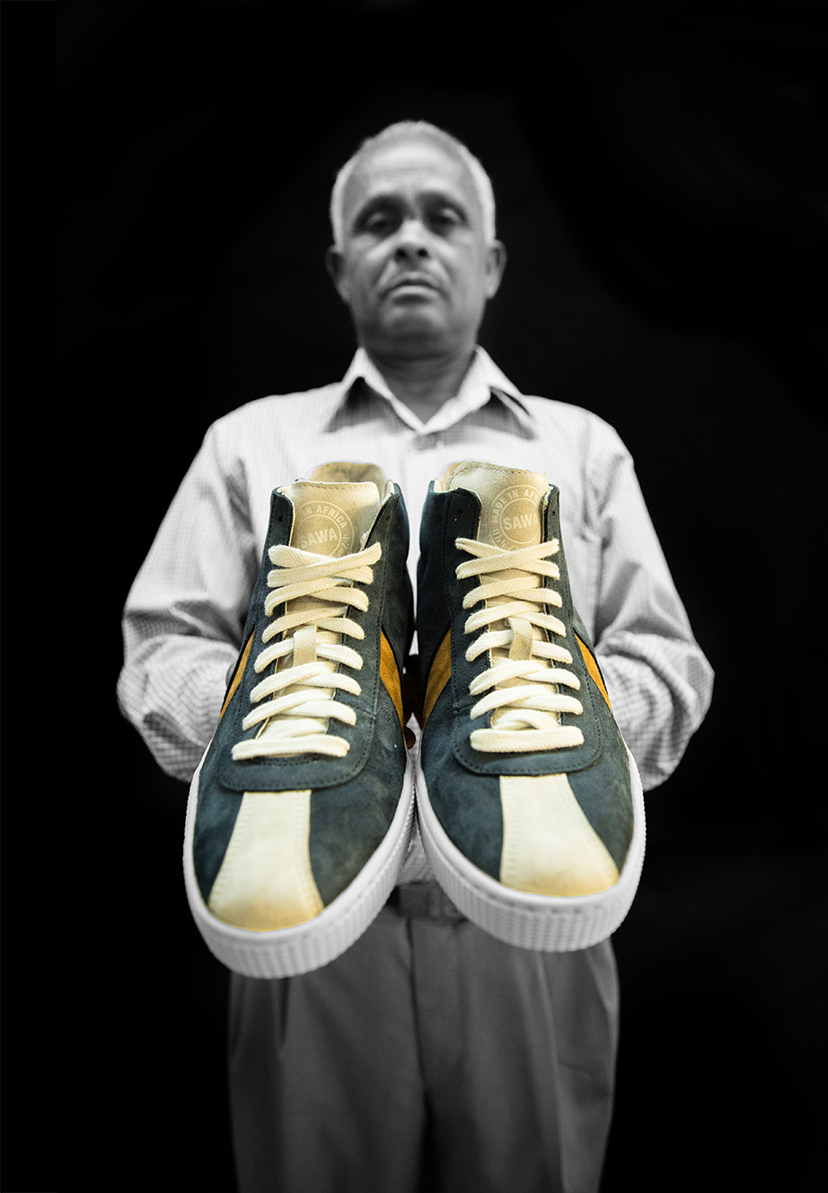 Shoemakers show off the latest Sawa trainer collection ...