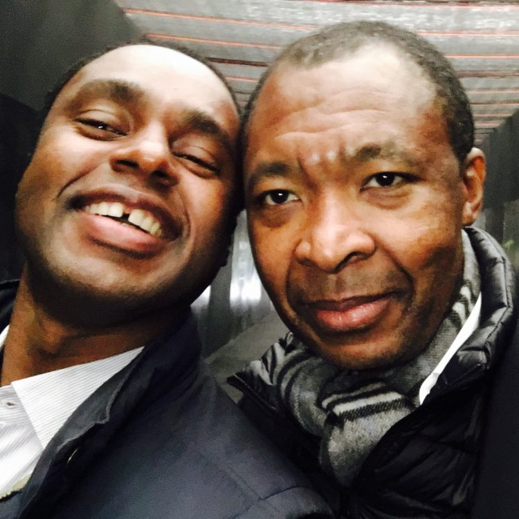 Claude Grunitzky and Okwui Enwezor