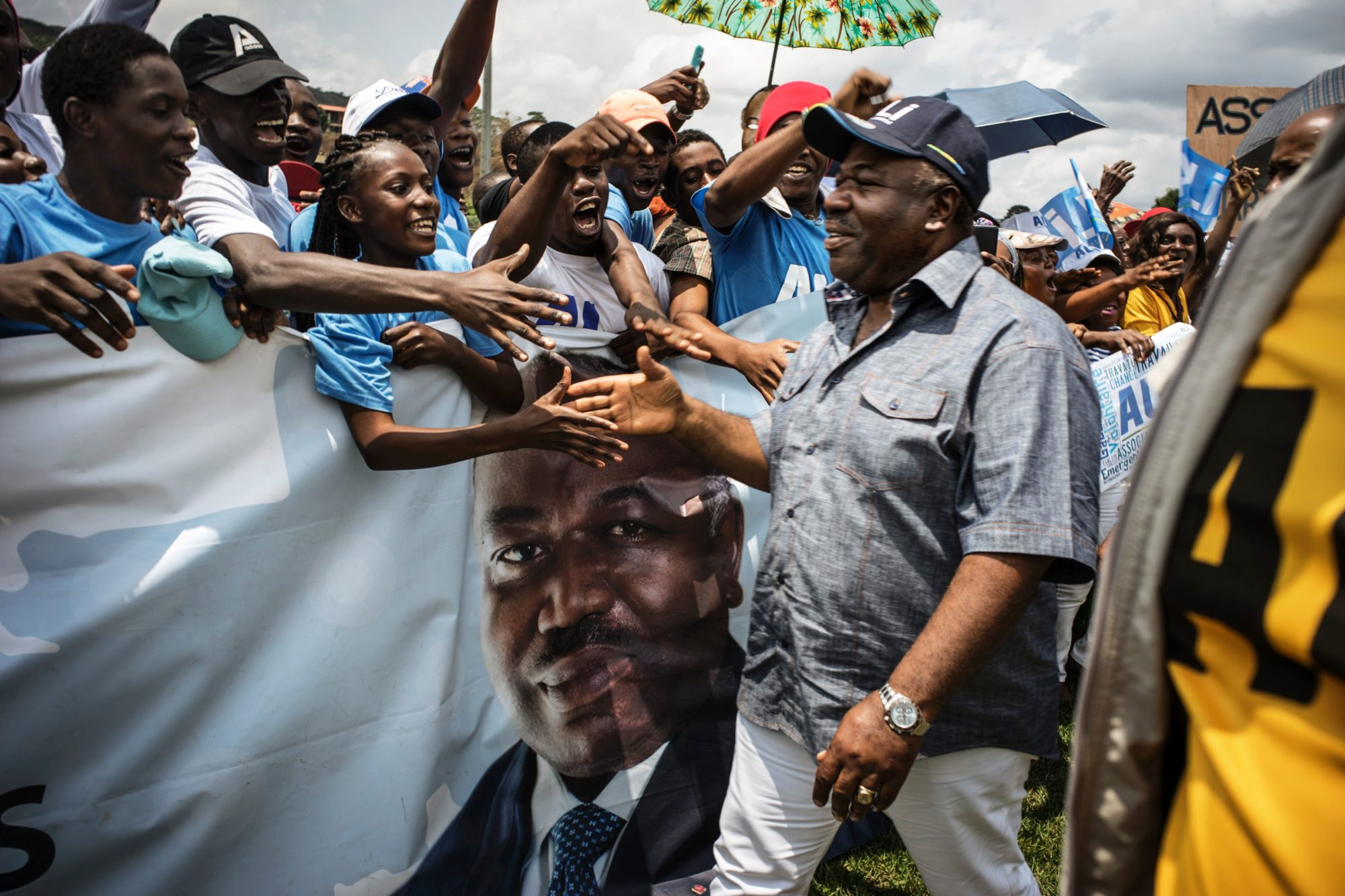 Gabon President Ali Bongo Finally Beats Jean Ping After Contested Election  True Africa-9462