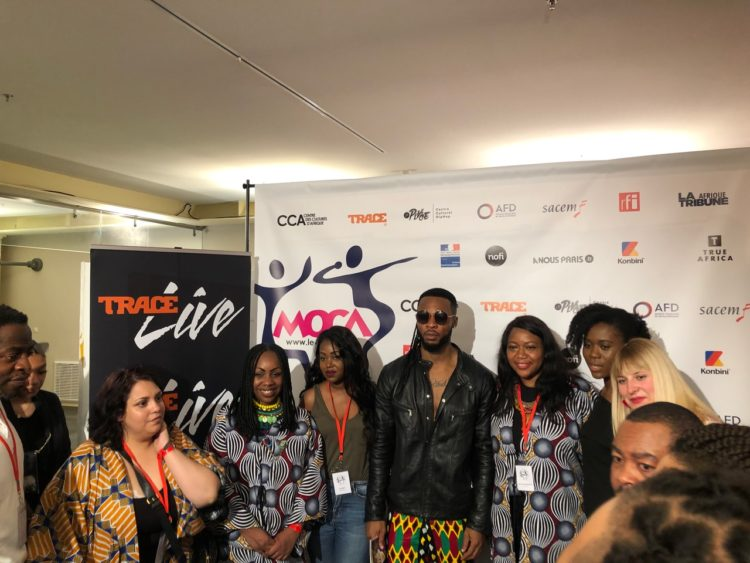 Group photo with Flavour, this year's headliner