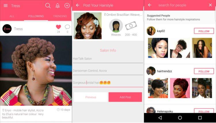 Meet the African all-female team behind black hair app, Tress ...